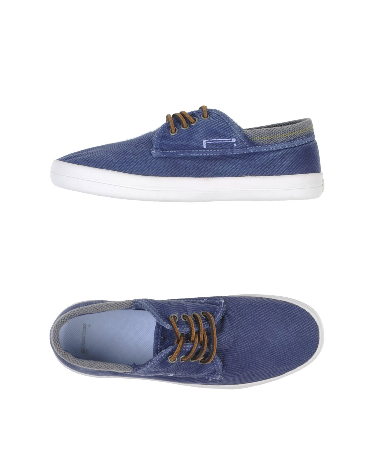 pirelli pzero low tops trainers in blue for