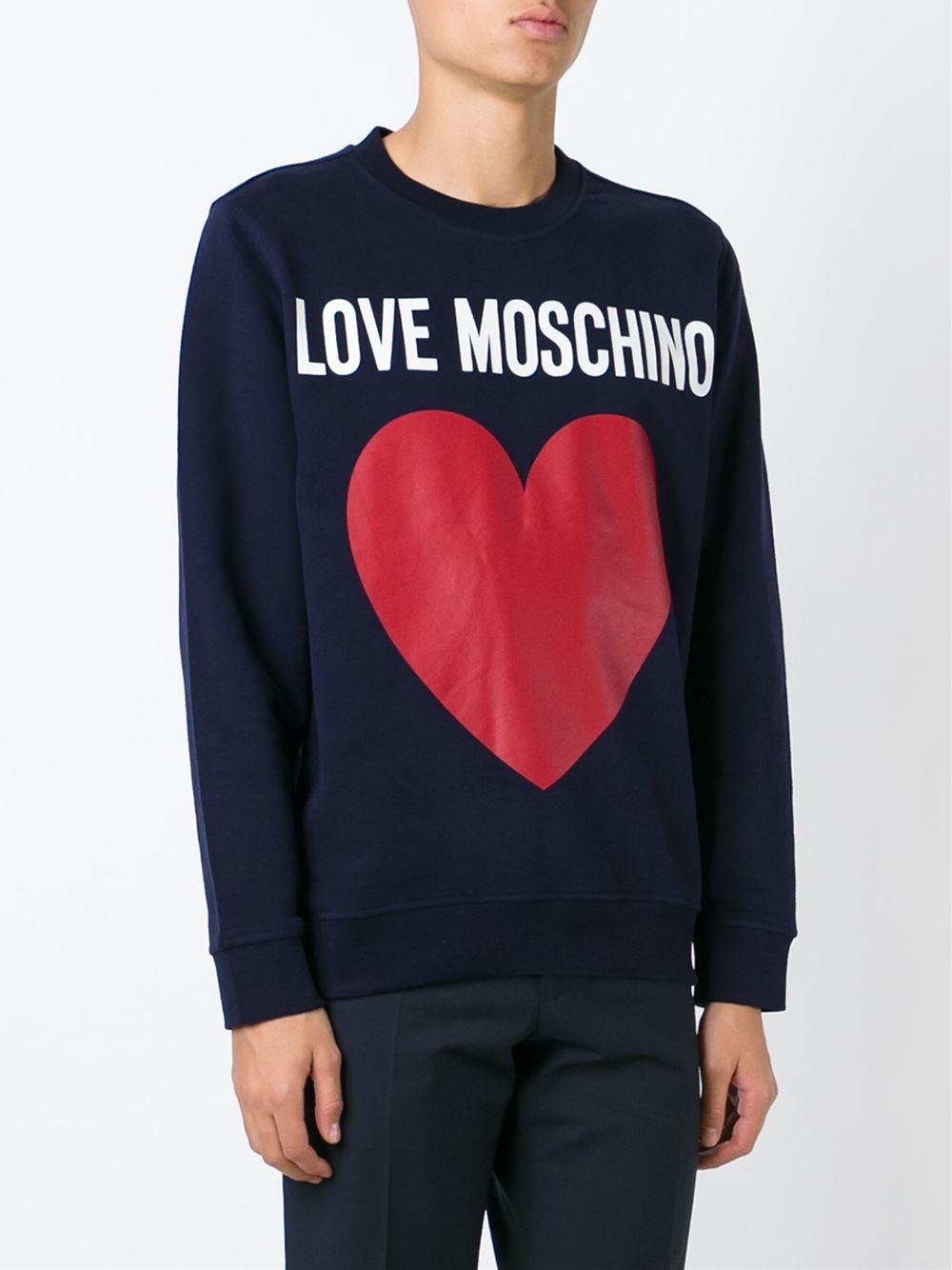 Heart Alexachung Sweatshirt Print Glitter Gris AqA5O