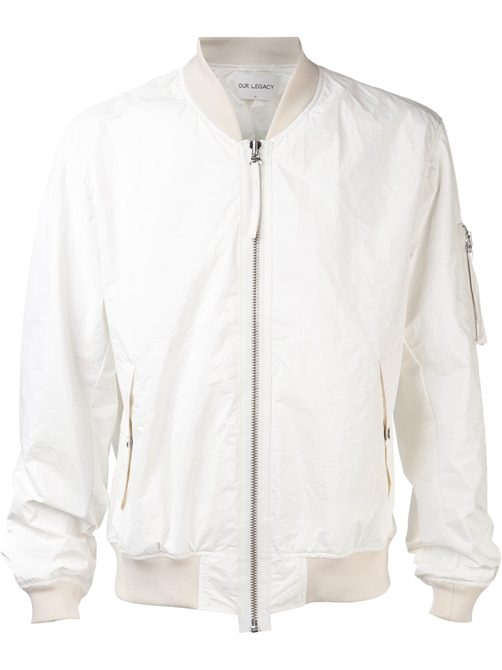 Our legacy Bomber Jacket in White for Men | Lyst