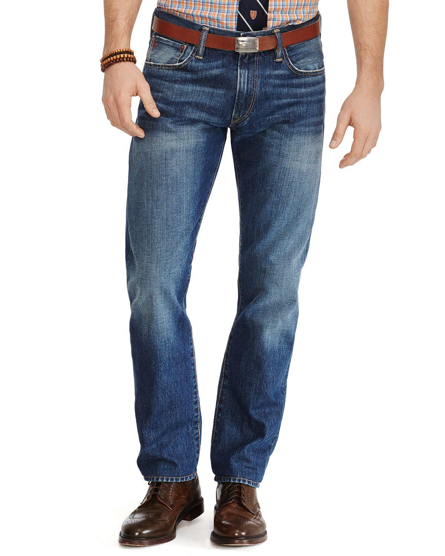 de029a83a73 Lyst - Ralph Lauren Polo Jeans - Hampton Straight Fit In Cedar Wash ...