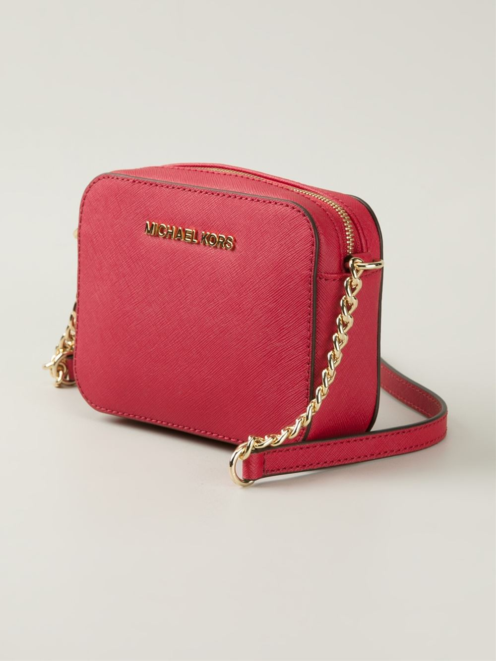 712e786bc218 Michael Kors Jet Set Crossbody Bag Red | Stanford Center for ...