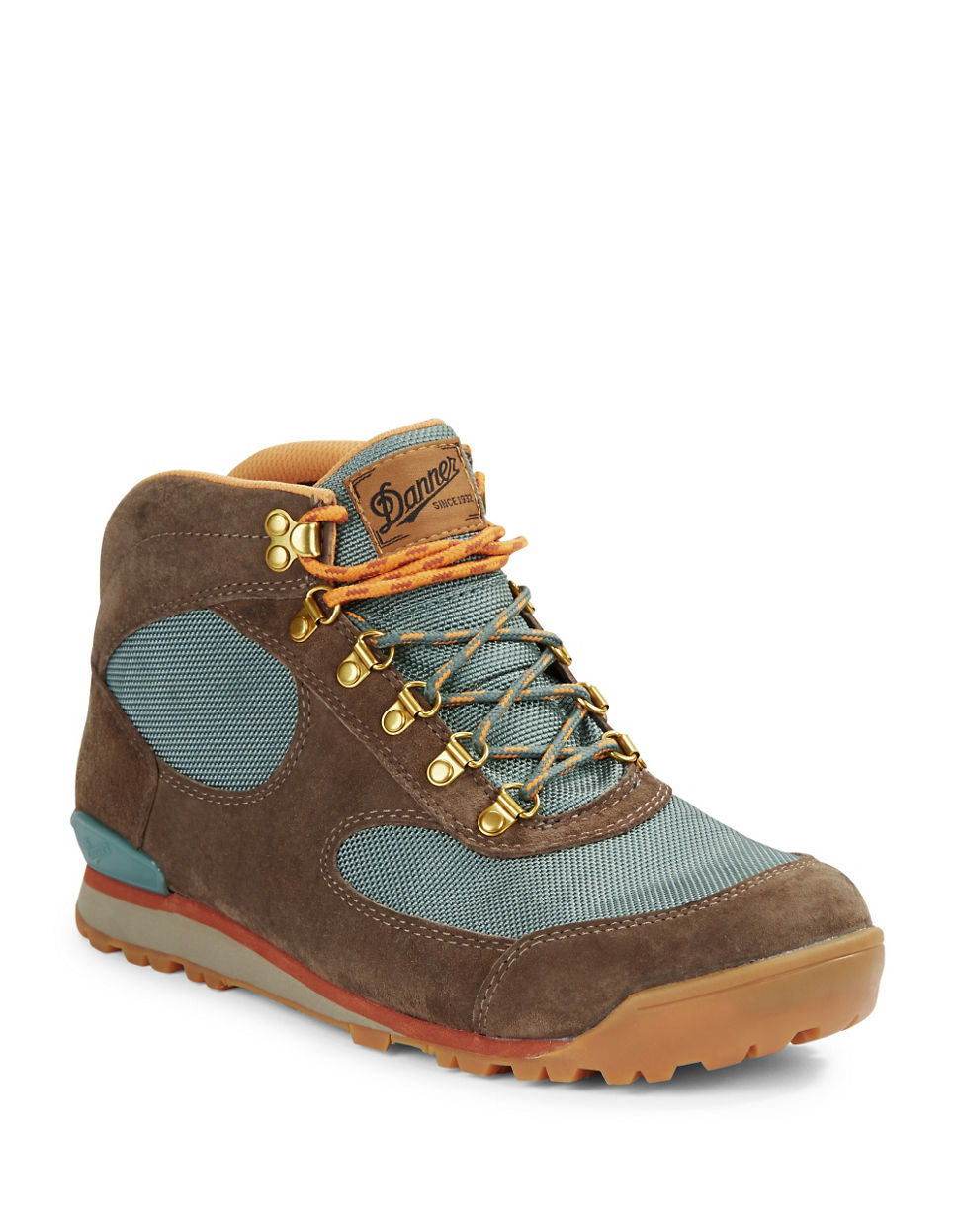 Danner Jag Colorblocked Hiking Boots In Blue For Men Lyst
