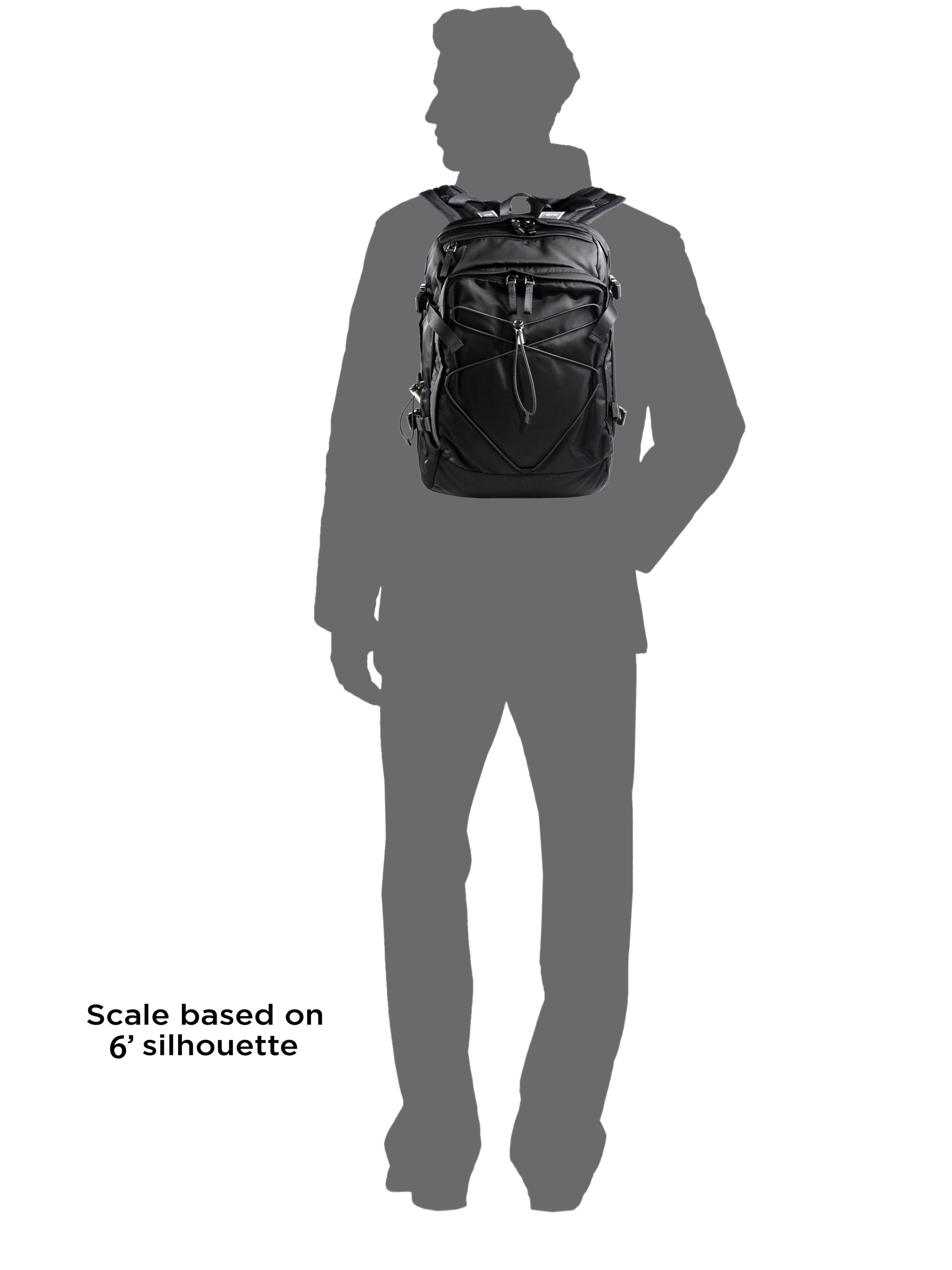 Prada Nylon And Leather Backpack in Black for Men | Lyst