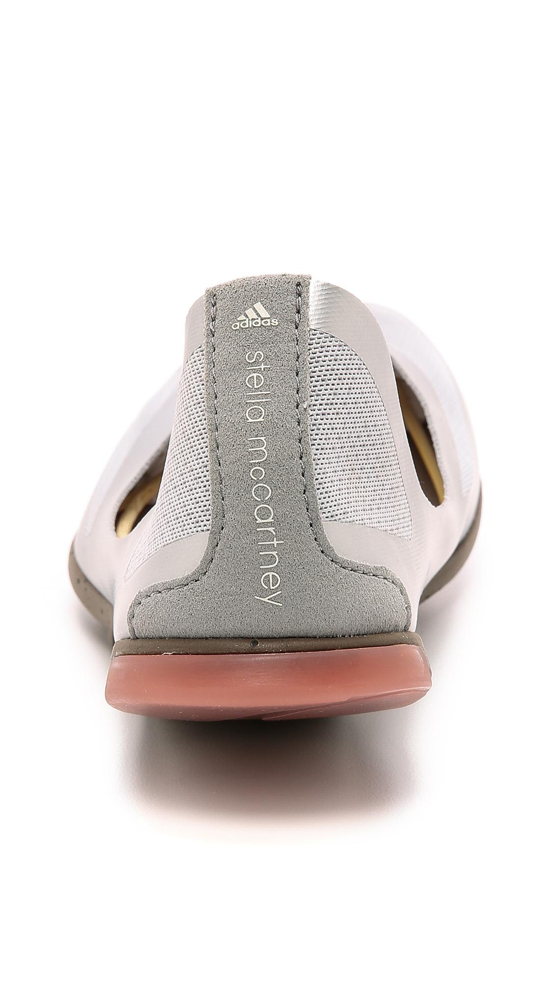Lyst Adidas Da Stella Mccartney Opaca Ciccura Le Ballerine Opaca Mccartney 00cc56