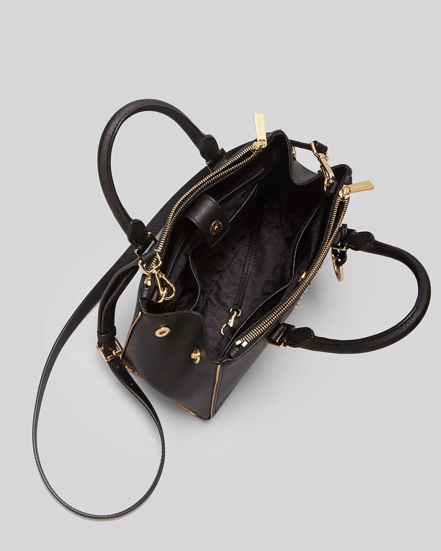 Michael Kors Sutton Saffiano Leather Medium Navy Satchels