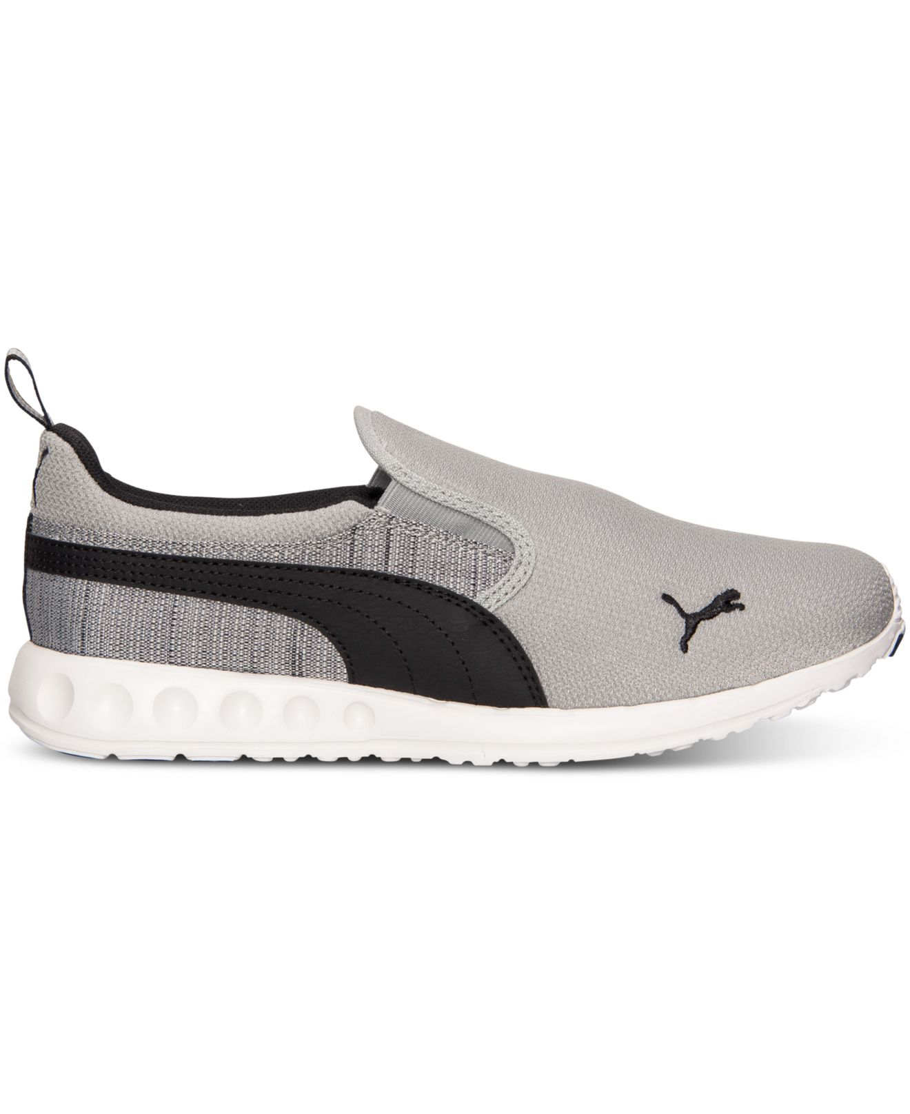 Puma Mens Carson Runner Slip on Casual Sneakers From