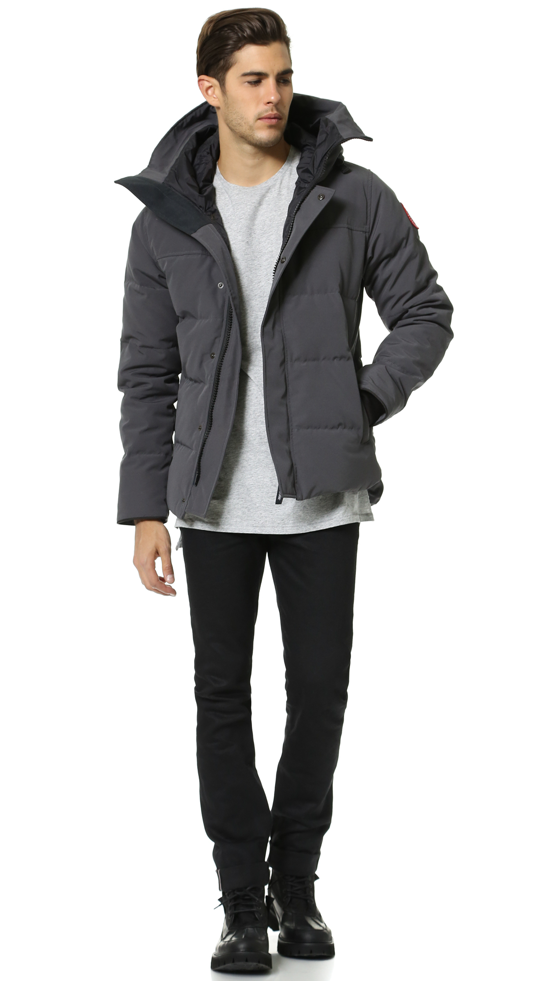 Canada Goose' Constable Fusion Fit Parka - Men's Small - Red