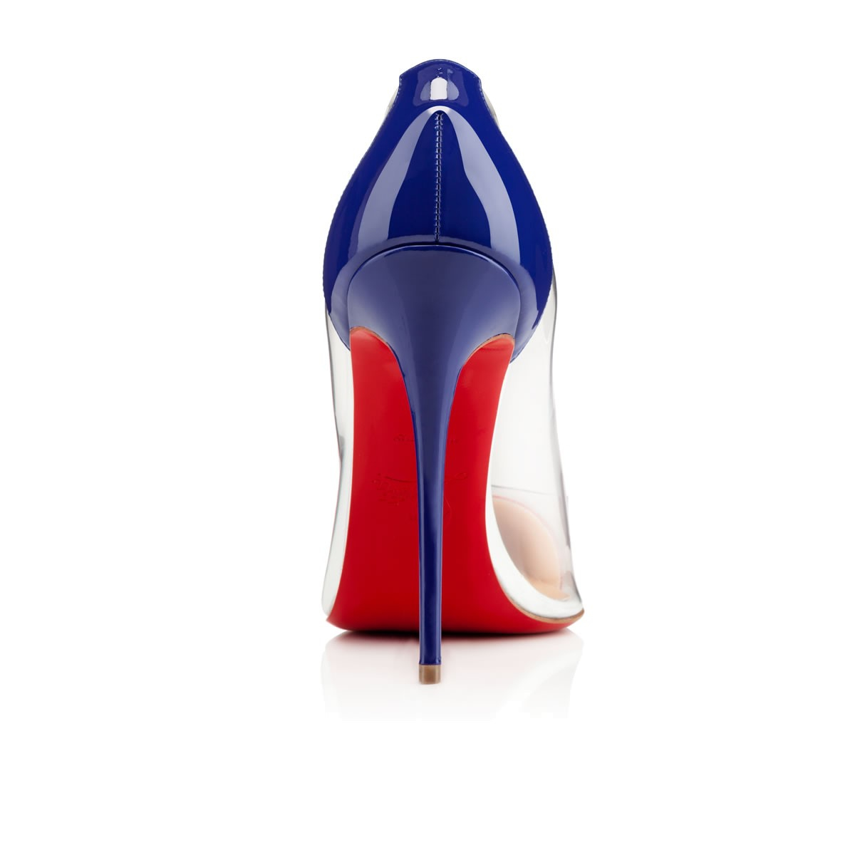 kelly handbags - christian louboutin debout pvc pointed-toe pumps, spiked christian ...