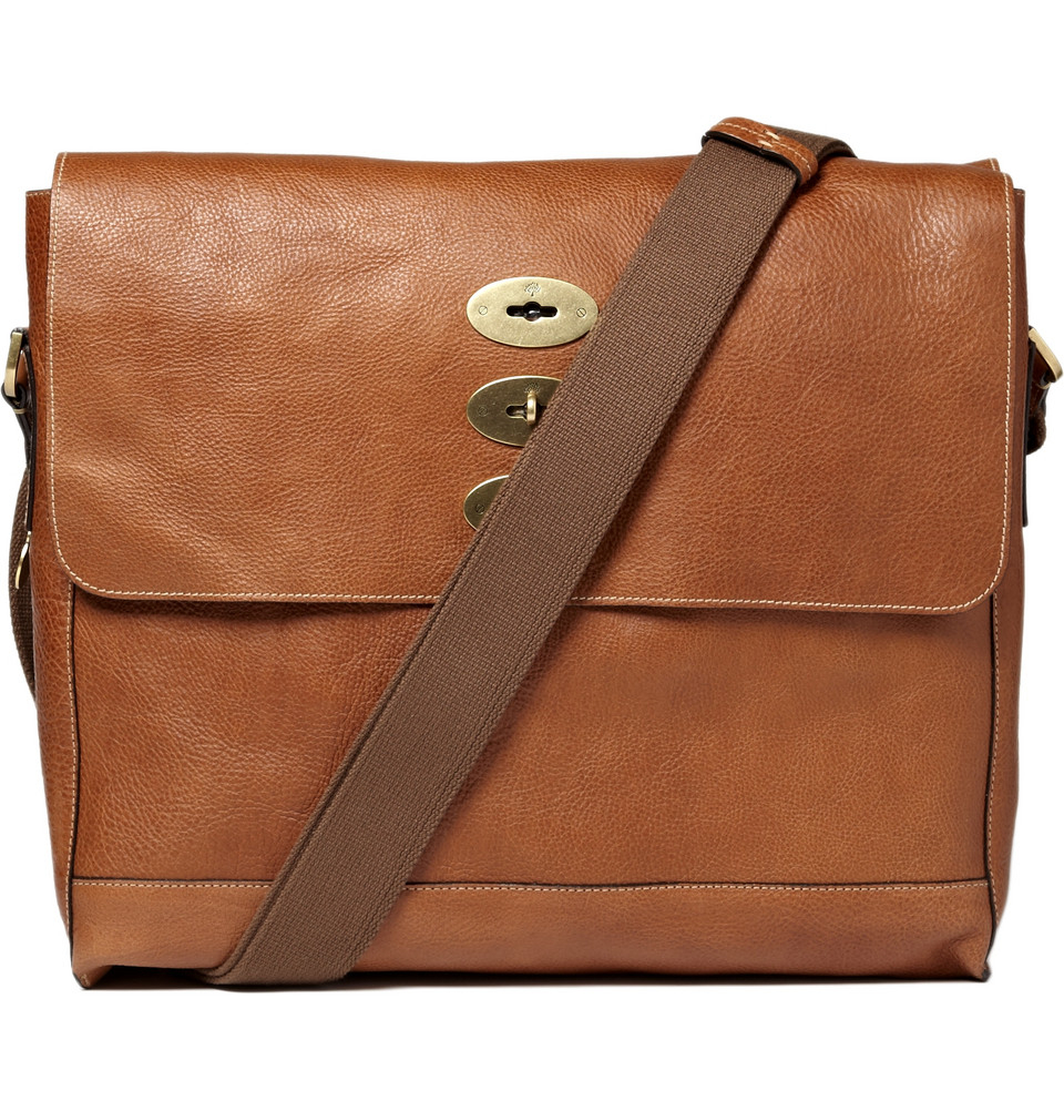 Mulberry Brynmore Leather Messenger Bag In Brown For Men | Lyst