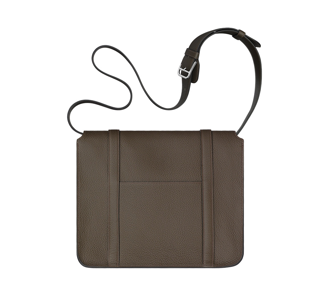 birkin bag outlet - hermes steve caporal taupe men bags