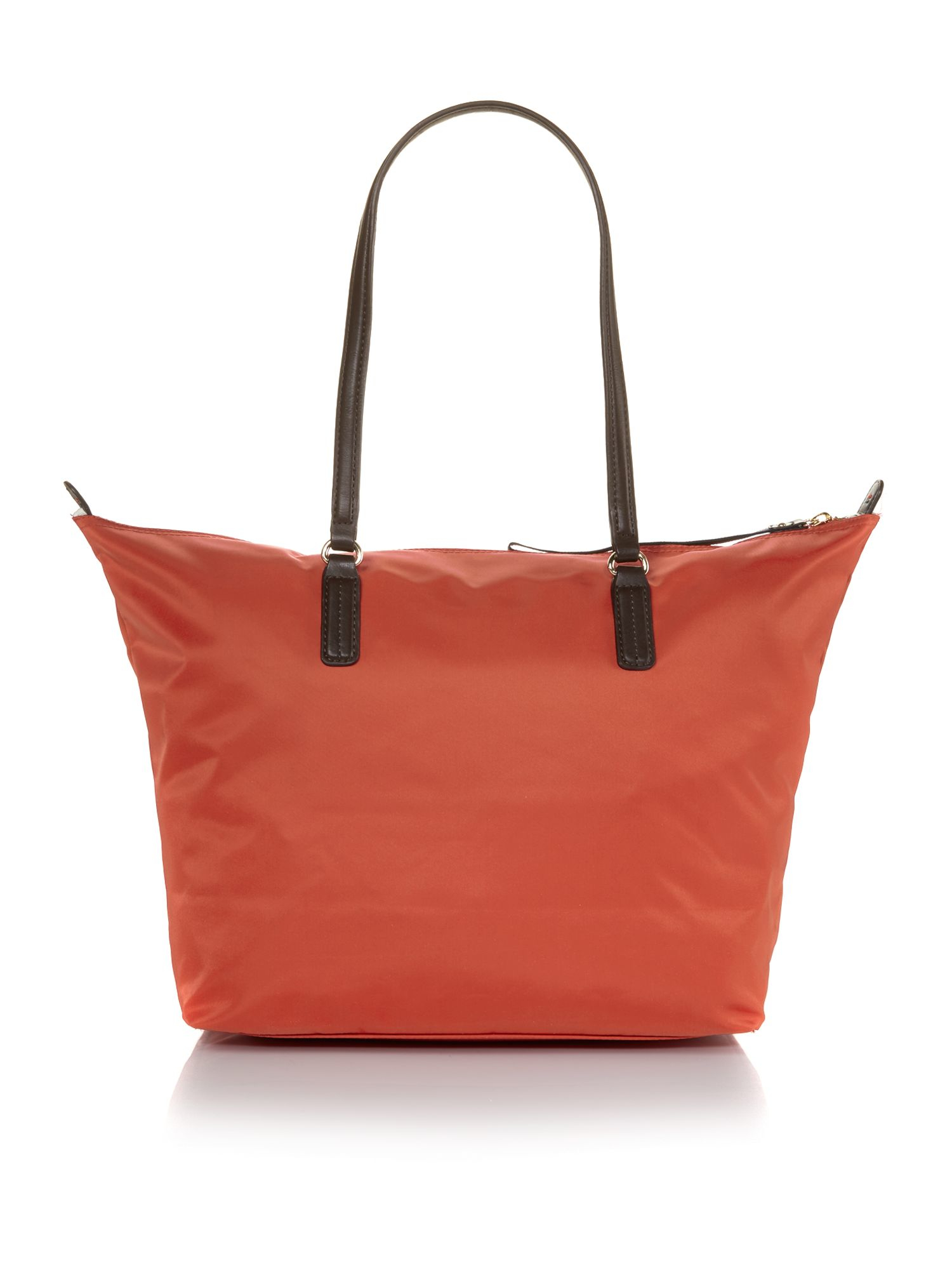 Tommy hilfiger Poppy Orange Tote Bag in Orange | Lyst