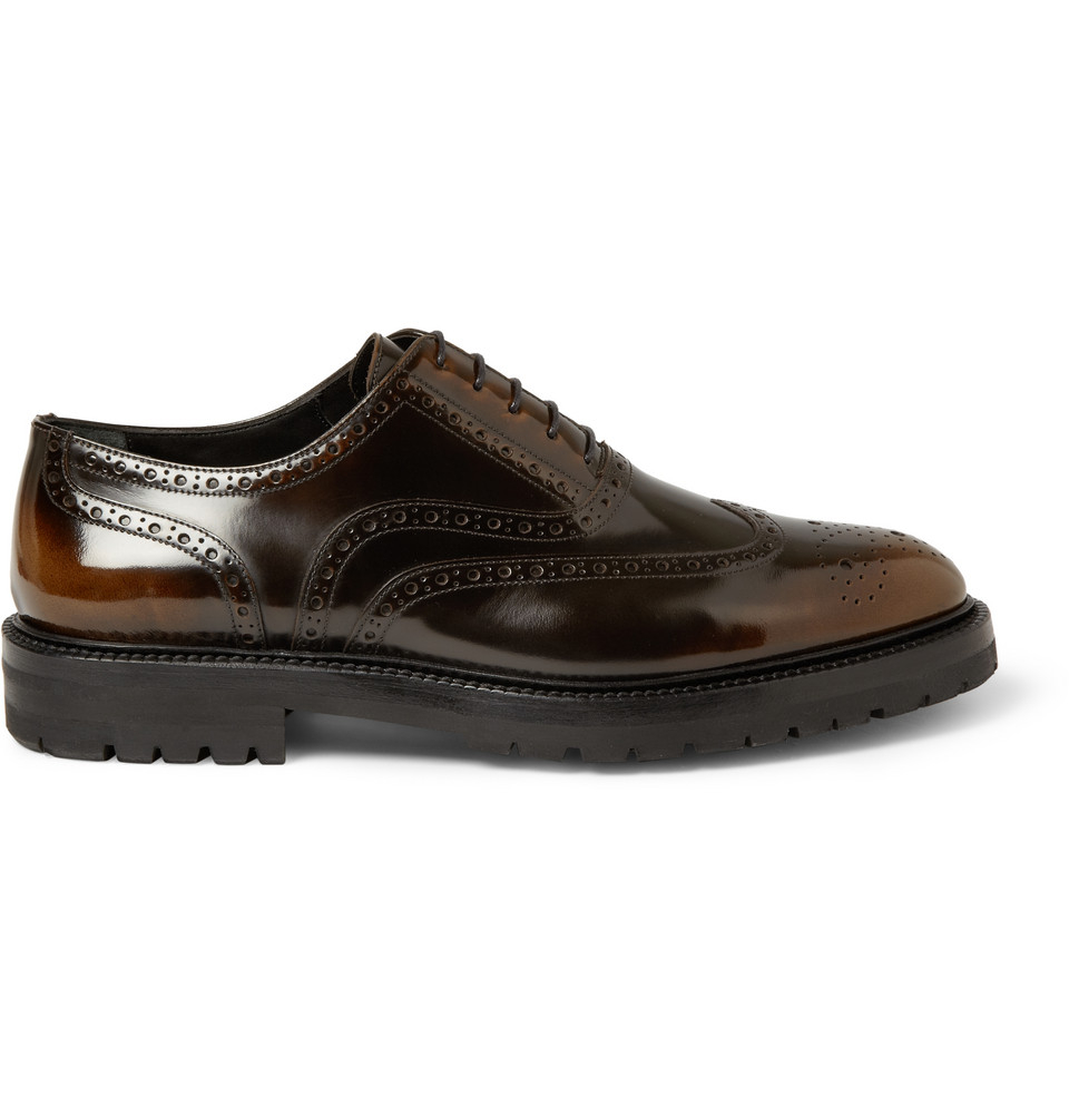 Armani Patent Leather Shoes