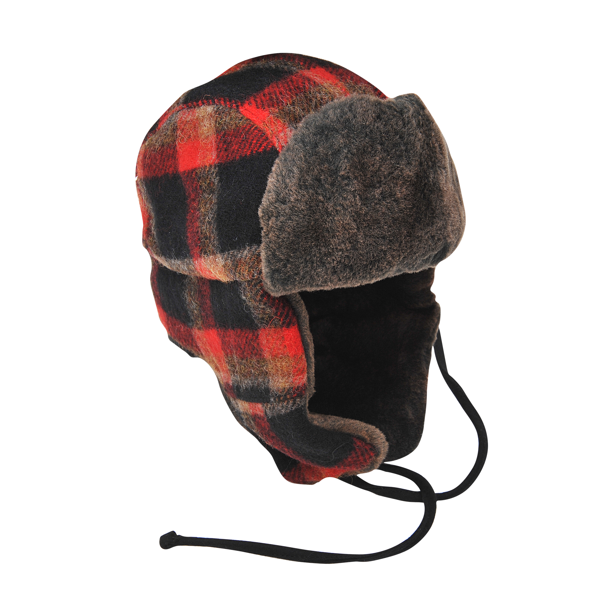 Lyst - Stetson Clovis Plaid Trapper Hat in Black 66acb09061c