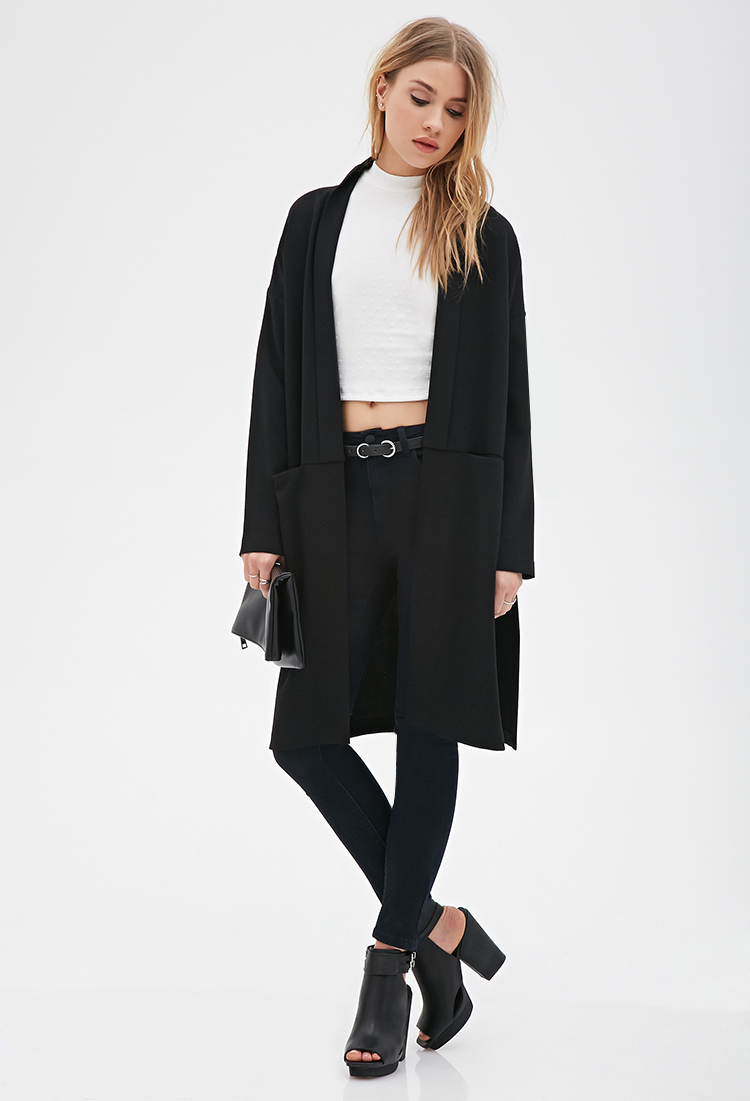 Forever 21 Classic Skinny Jeans in Black  Lyst