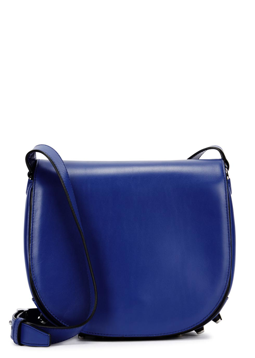 Alexander wang Alpha Lia Leather Cross-body Bag in Blue