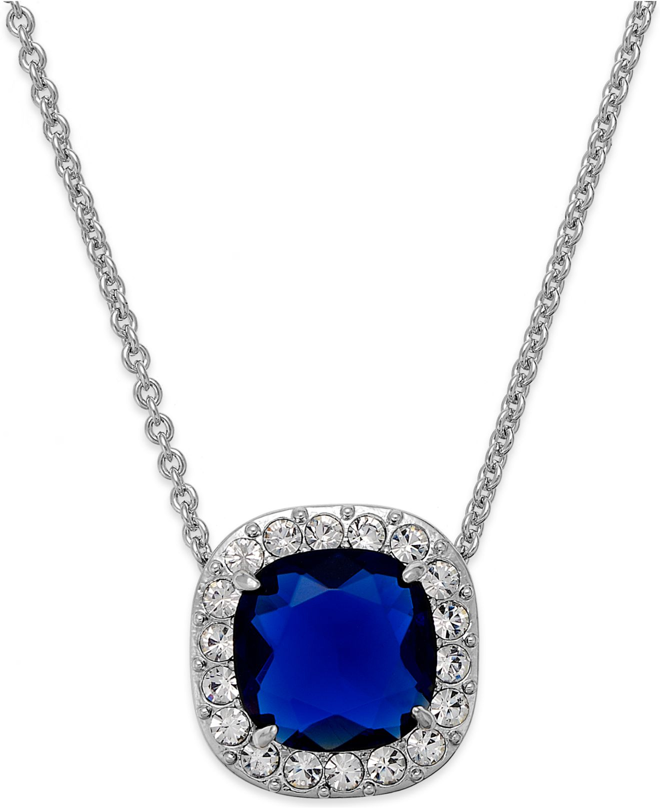 Blue stone silver necklace image of necklace new silver necklace blue stone jewellry s site aloadofball Choice Image