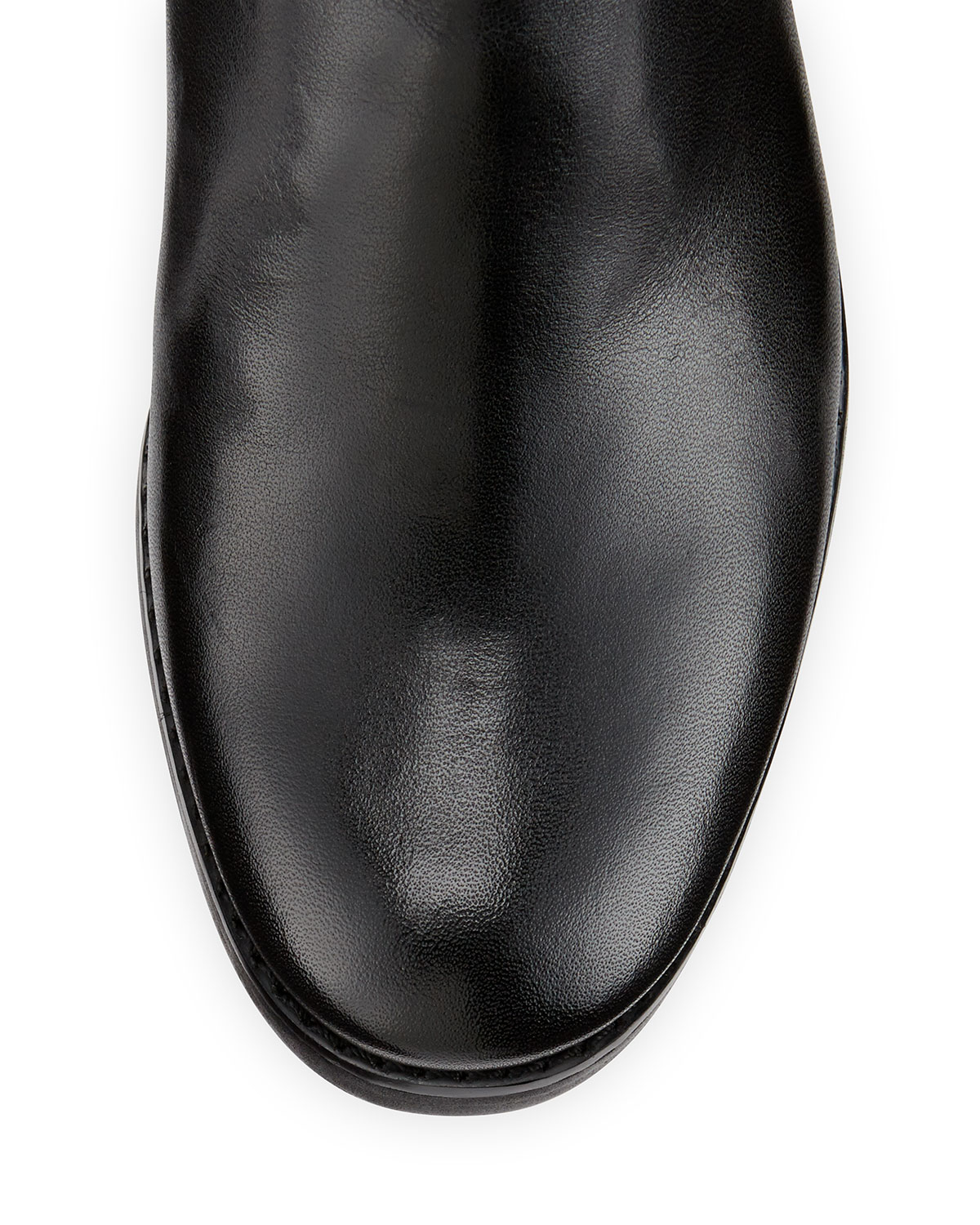 Michael michael kors Stockard Two-Tone Leather Riding Boot in ...