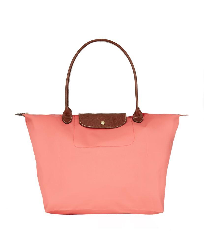 Longchamp Bag Le Pliage Australia : Longchamp le pliage large shoulder bag in purple lyst