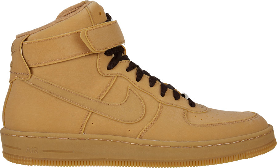 7a7a9b1f0de9 Lyst - Nike Air Force 1 Downtown Hi Gum Hightop Sneakers in Brown ...