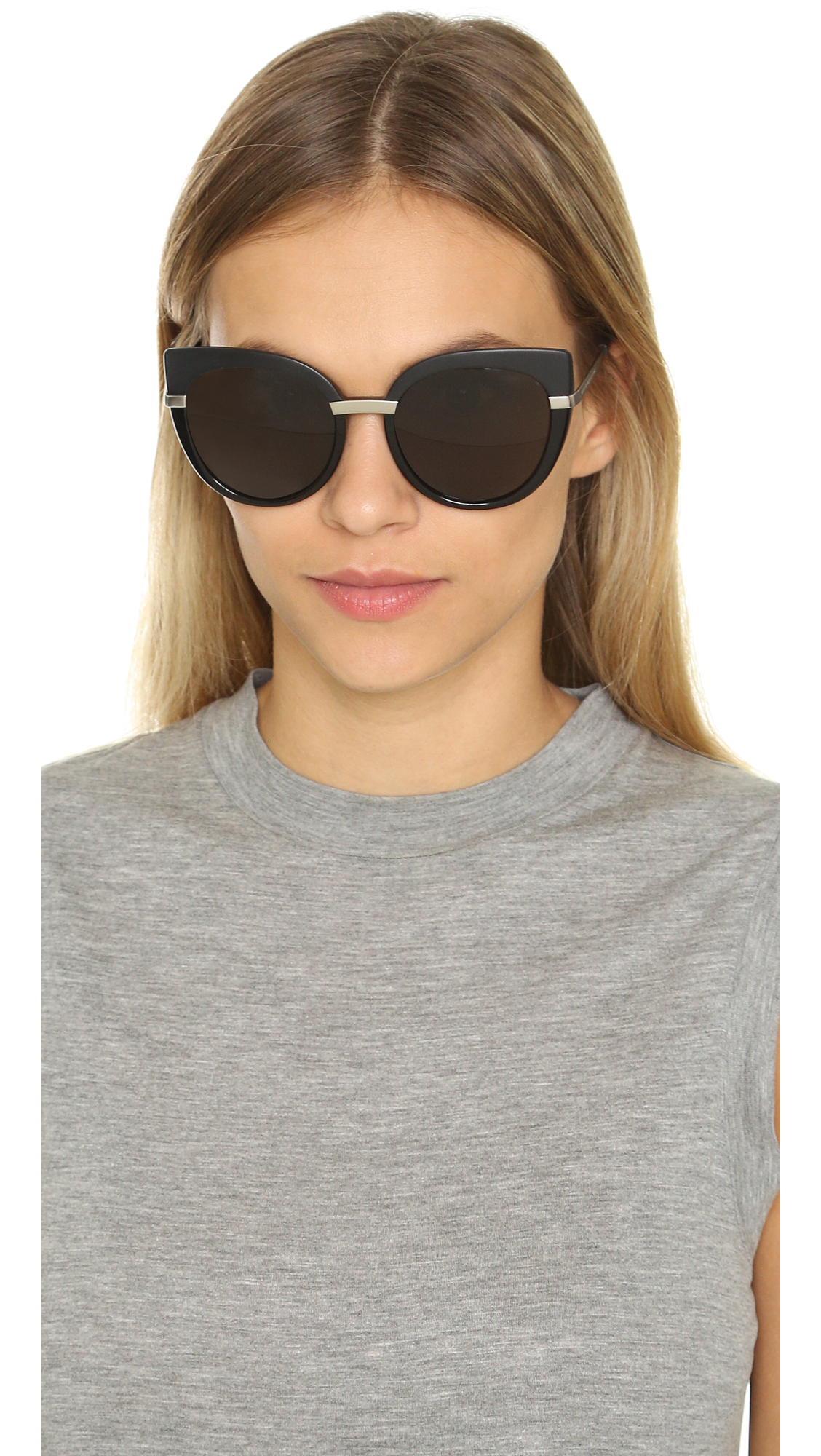 305d63ab9a2a Marc By Marc Jacobs Cat Eye Sunglasses - Spotted Havana/brown in ...