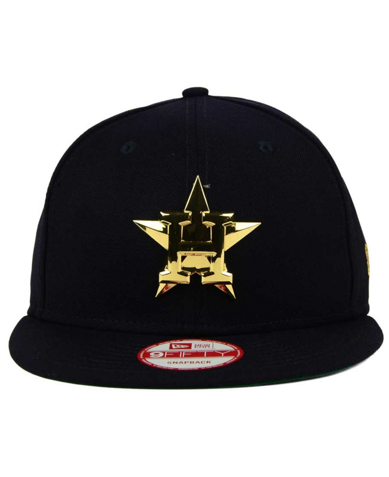 newest 72734 807de ... denmark lyst ktz houston astros league ogold 9fifty snapback cap in blue  52c43 52583