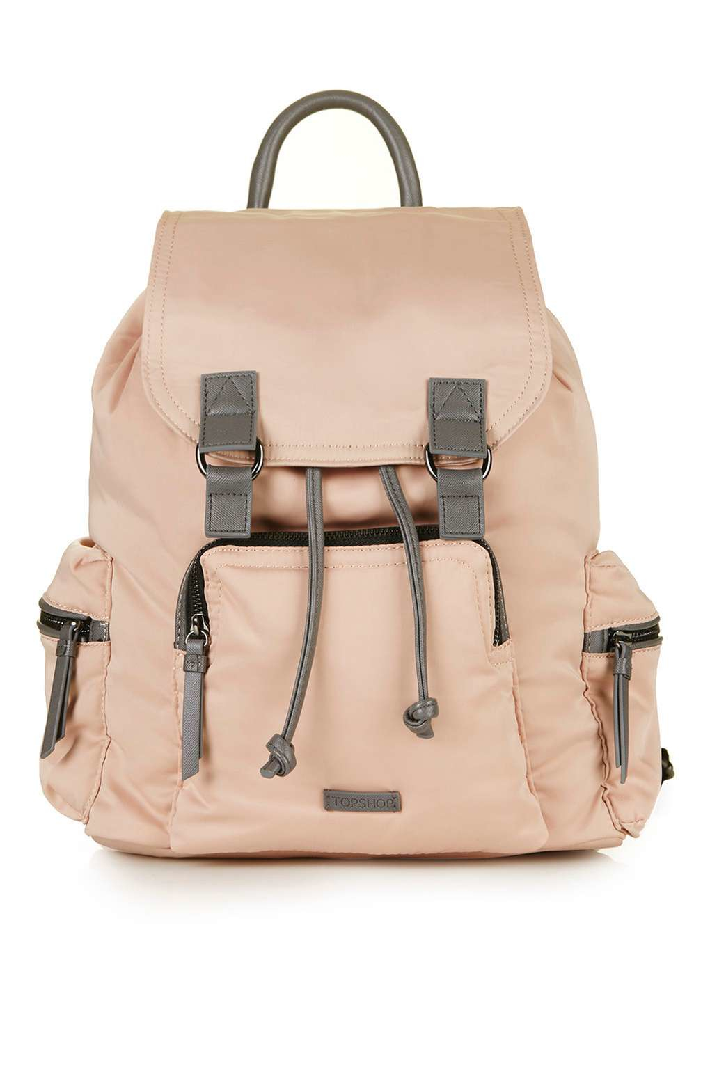 9e54f9b3a187 Lyst - TOPSHOP Nylon Sporty Backpack in Natural