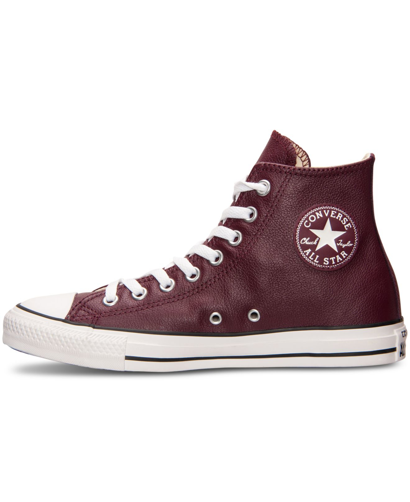how to clean leather converse shoes
