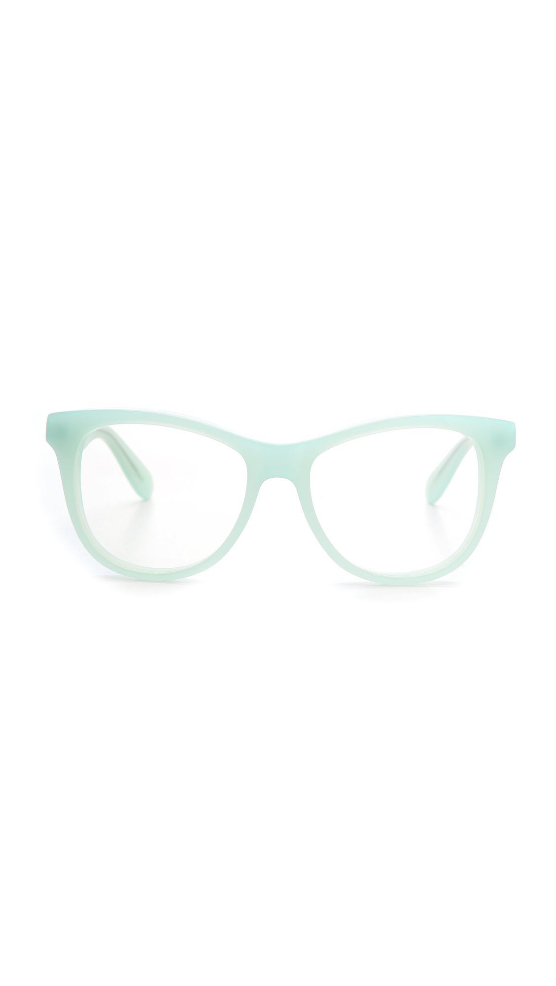 43356b68947a Lyst - Wildfox Catfarer Spectacle Glasses in Green