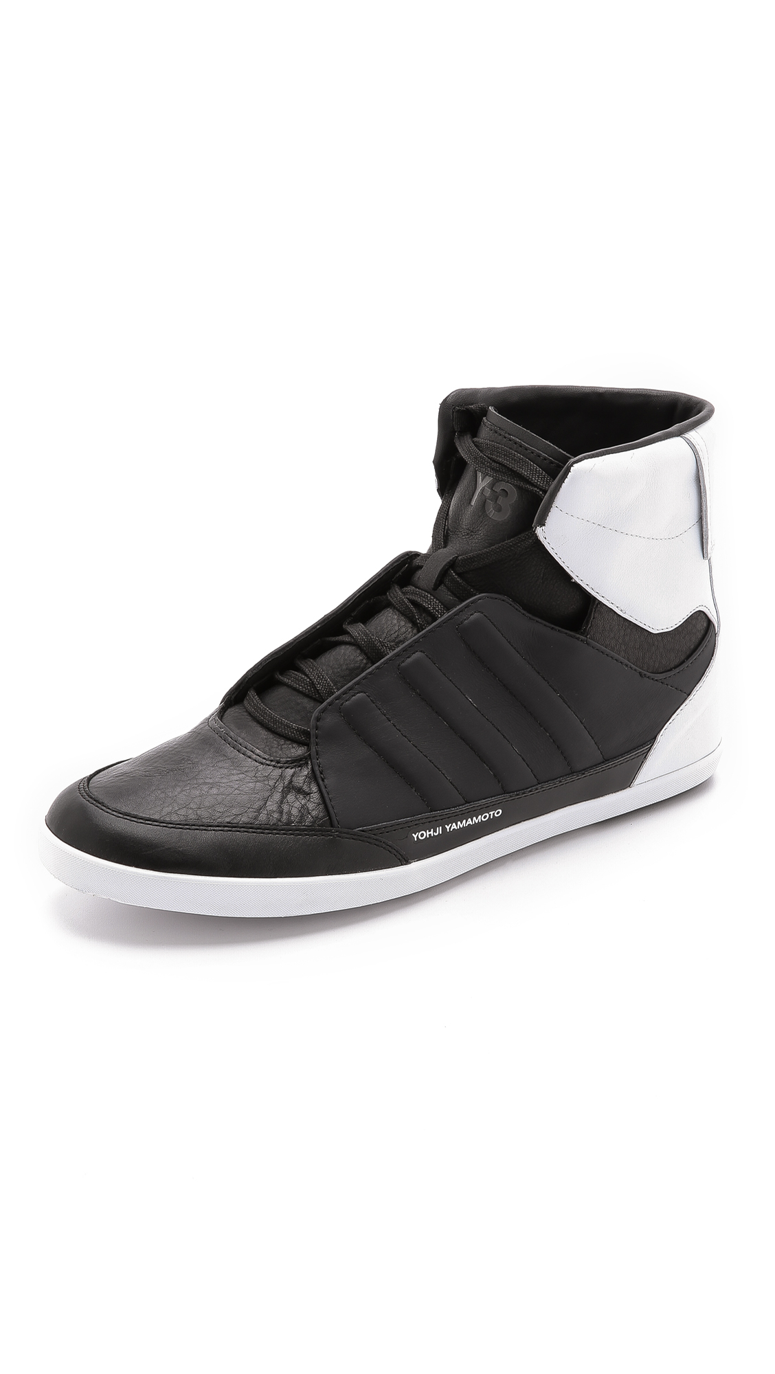 1f5b18c4b Y-3 Honja High in Black for Men - Lyst