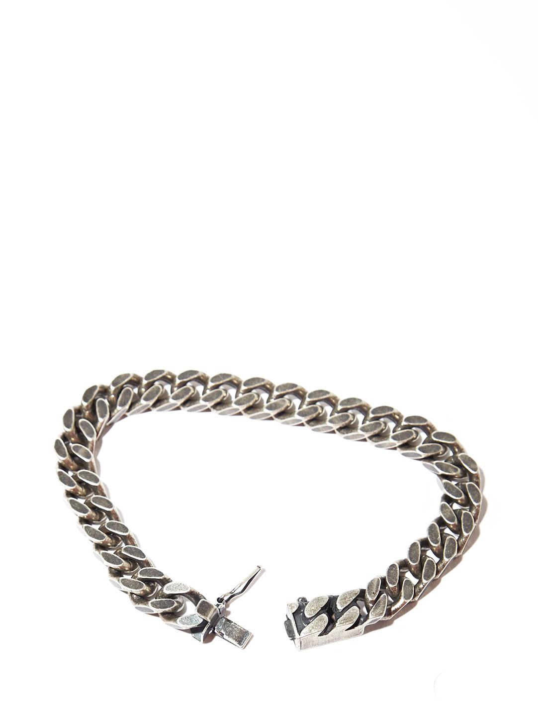Lyst Saint Laurent Mens Silver Chain Bracelet In