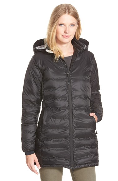 Canada Goose down replica fake - Canada goose 'camp' Slim Fit Hooded Packable Down Jacket, Black in ...