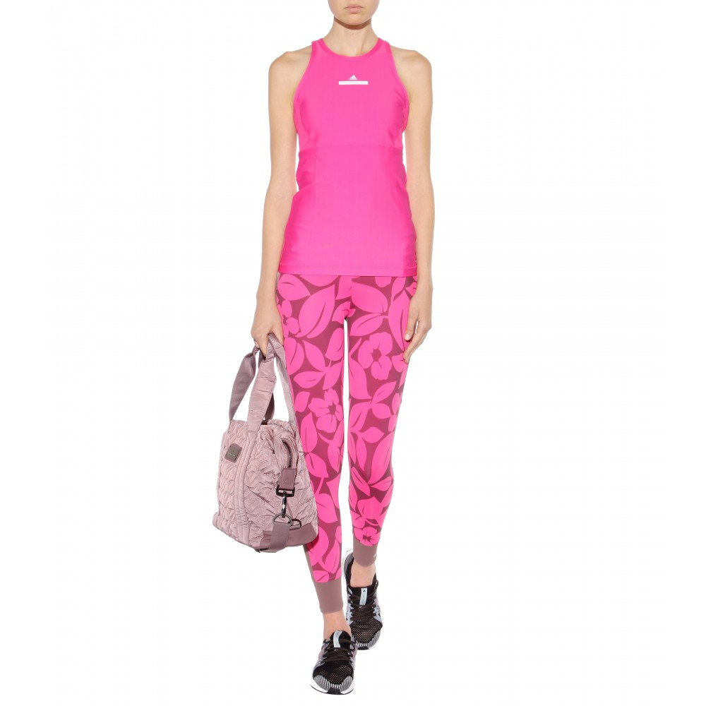 acfe55557a Lyst - adidas By Stella McCartney Quilted Gym Bag in Pink