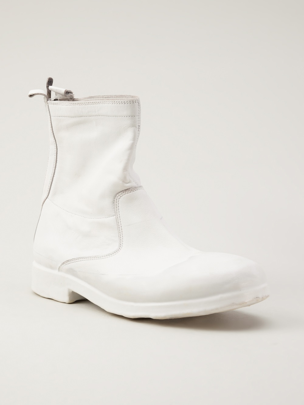 Oxs Rubber Soul Ankle Boot In White For Men Lyst