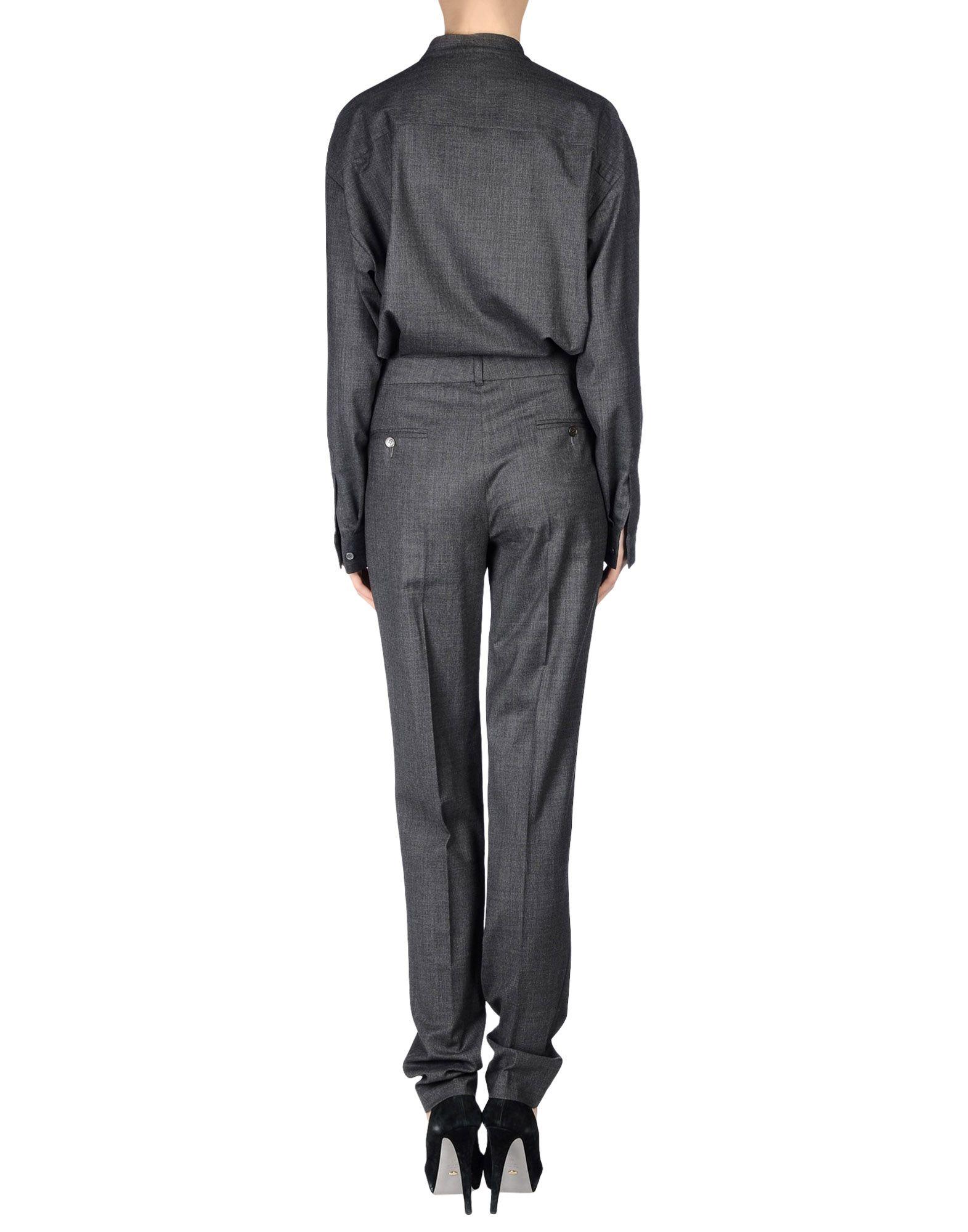 michael kors trouser dungaree in gray lyst. Black Bedroom Furniture Sets. Home Design Ideas
