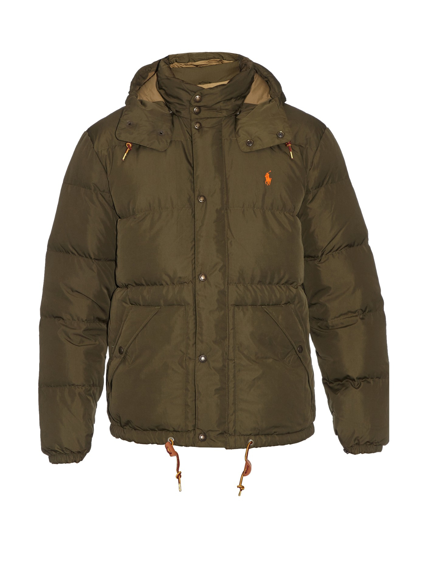 Lyst Polo Ralph Lauren Elwood Hooded Quilted Down Jacket