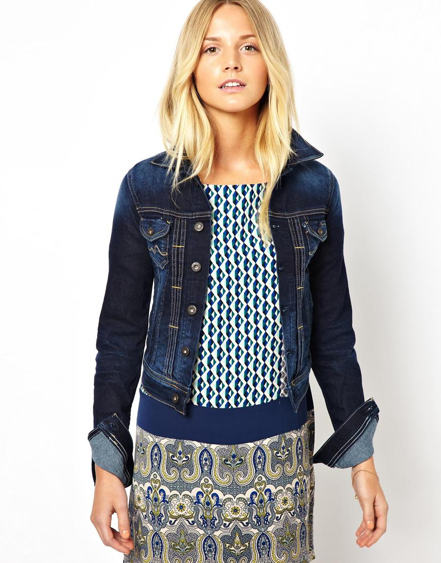 e21cace661 Lyst - Pepe Jeans Denim Jacket in Blue