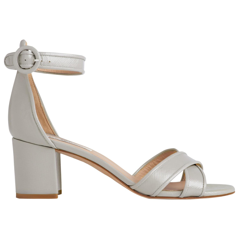 30d61daa03d8 L.K.Bennett Aniki Block Heel Sandals in Natural - Lyst