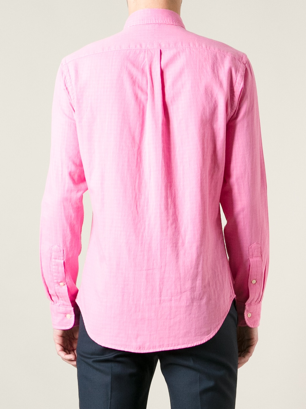 Lyst Polo Ralph Lauren Button Down Shirt In Pink For Men