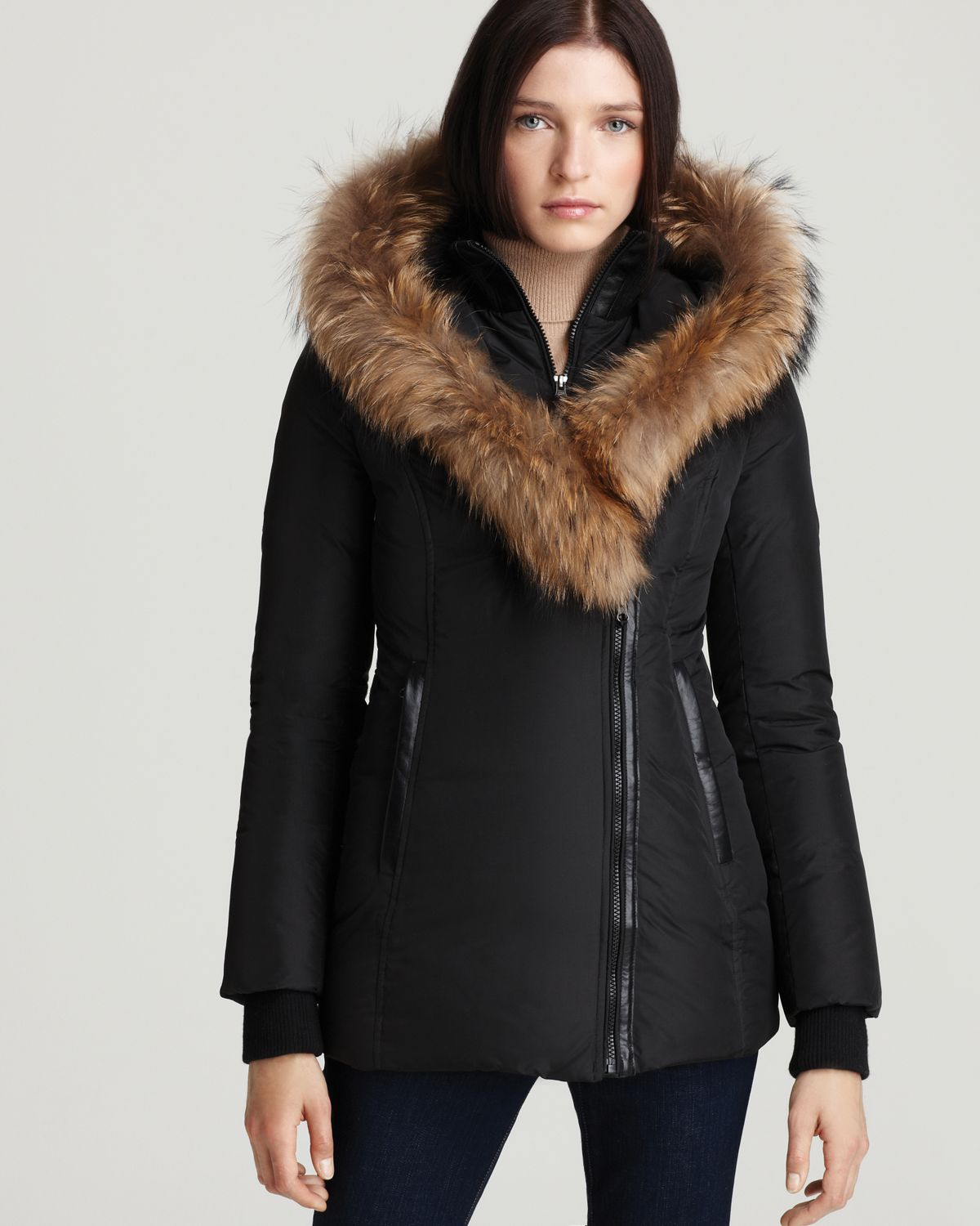 Coat Fur Hood - JacketIn