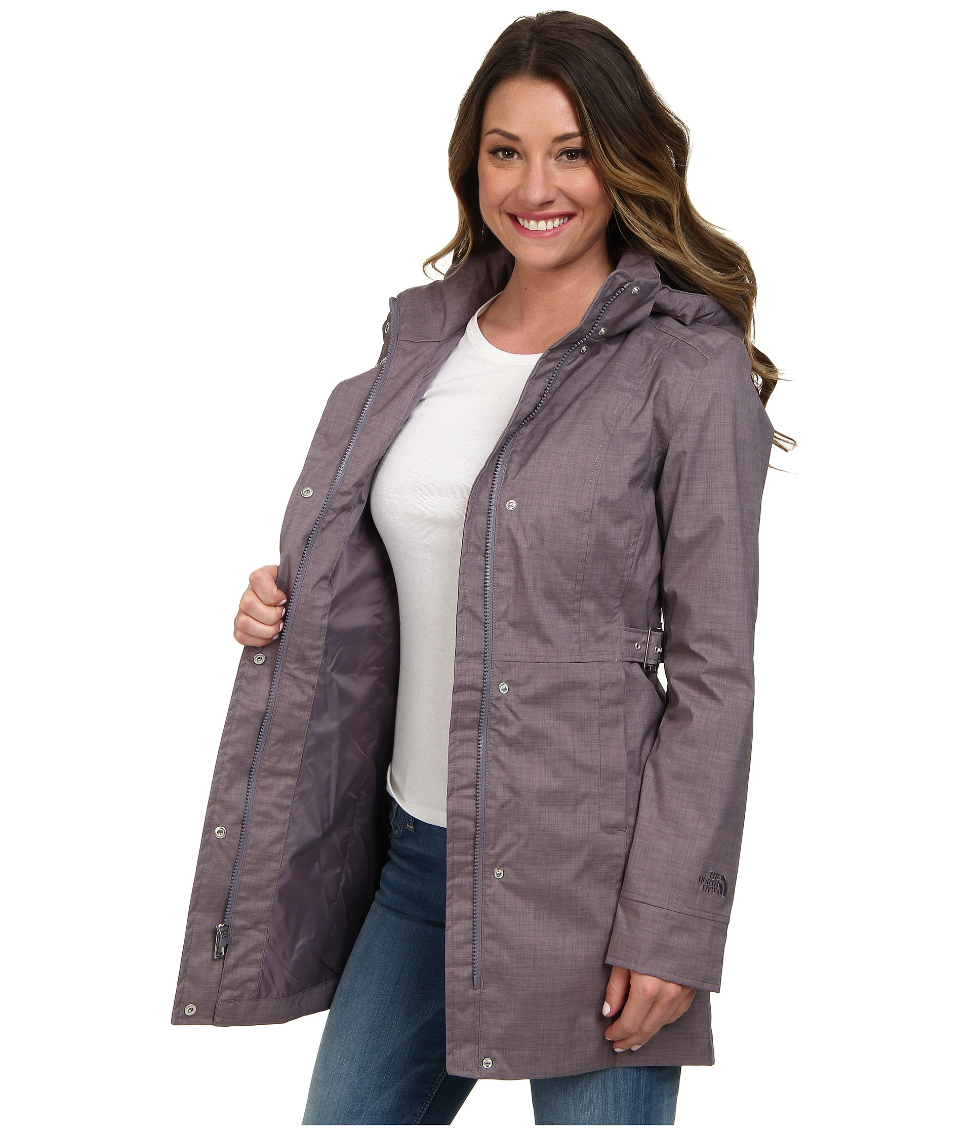 ... The north face Laney Trench in Gray Lyst ... 0c9895b5f