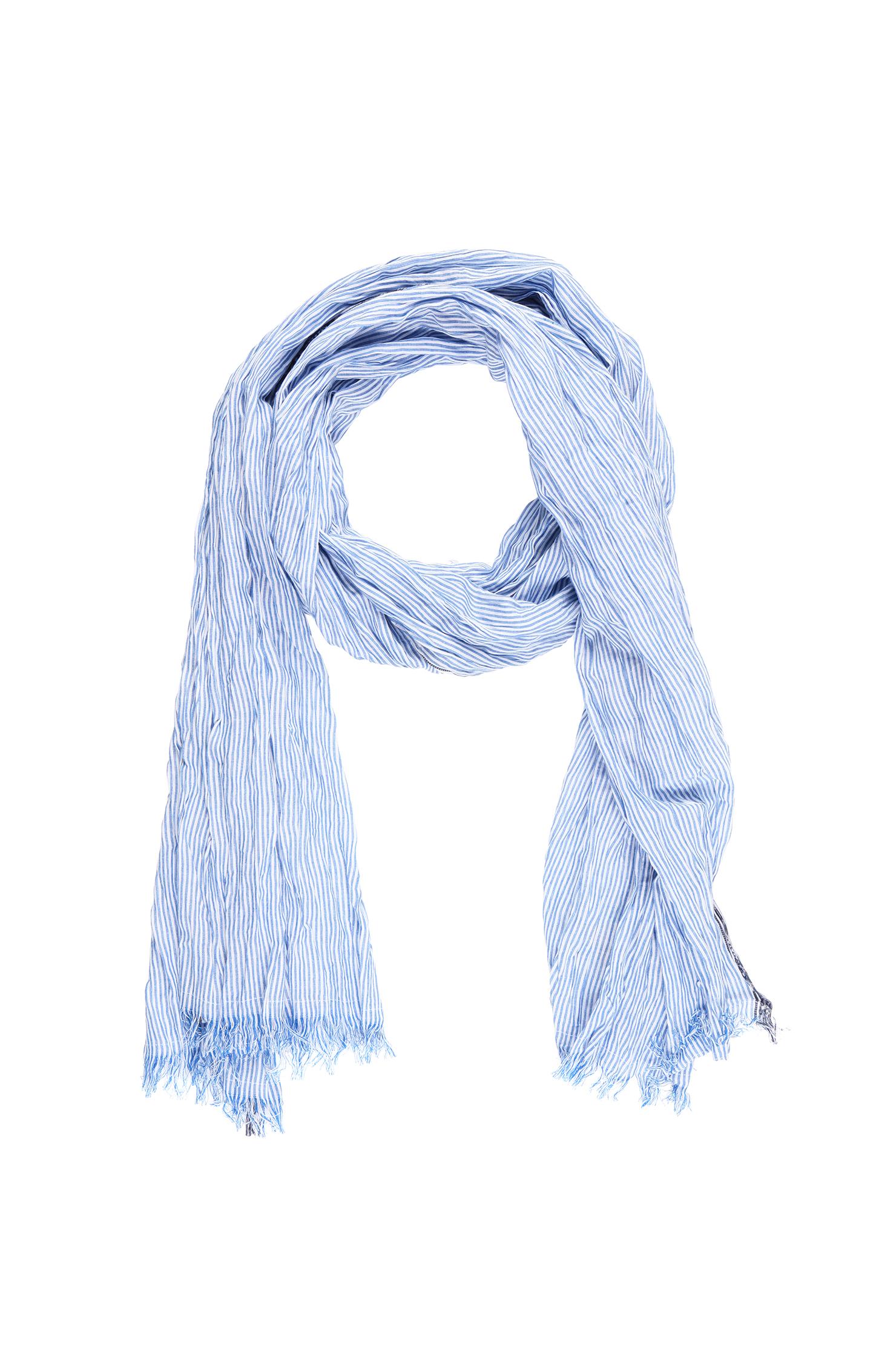 scotch soda scarf in blue for lyst
