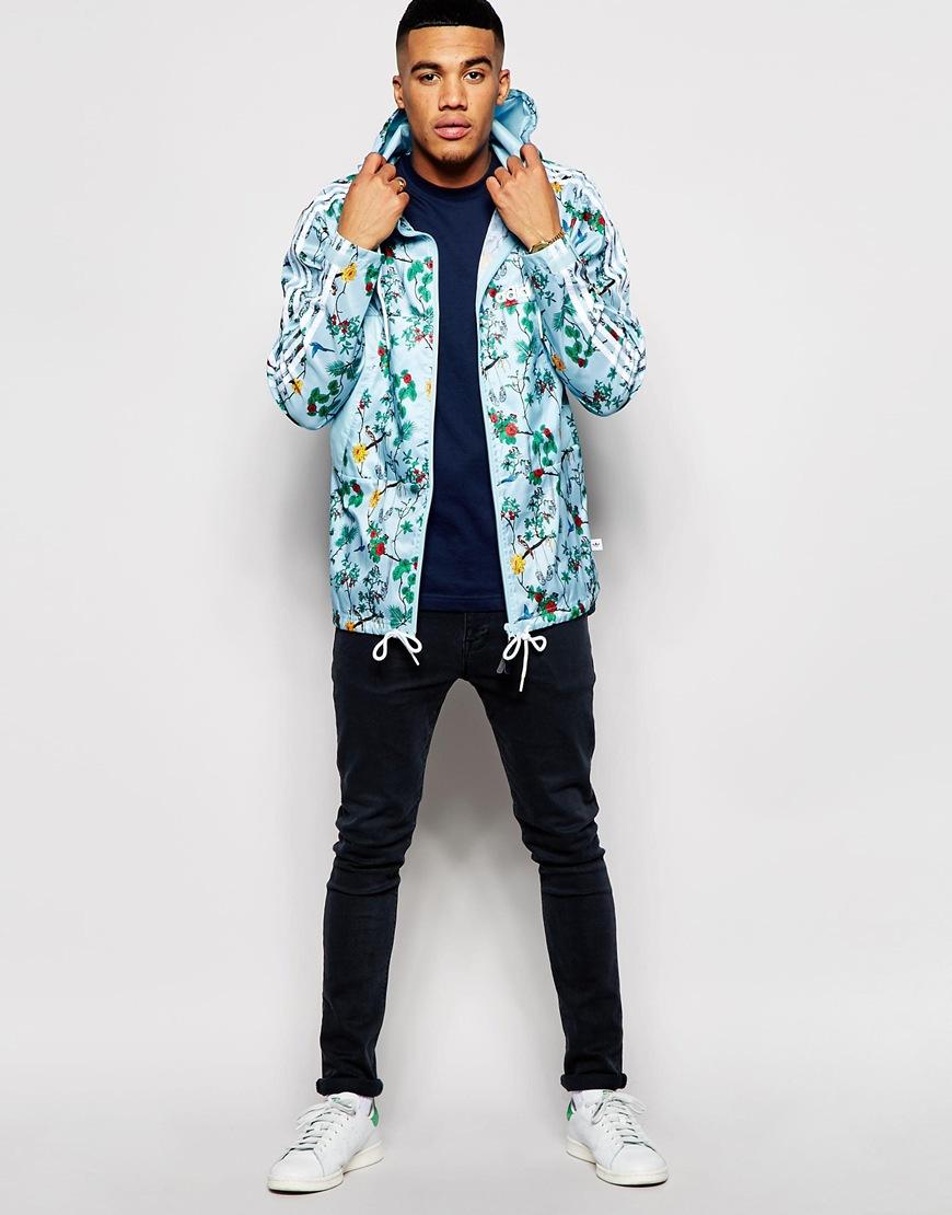 e102c7cec27 Lyst - adidas Originals Island Lightweight Jacket in Blue for Men