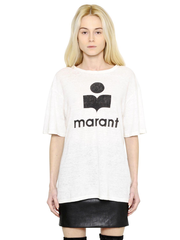 lyst toile isabel marant oversized marant printed linen