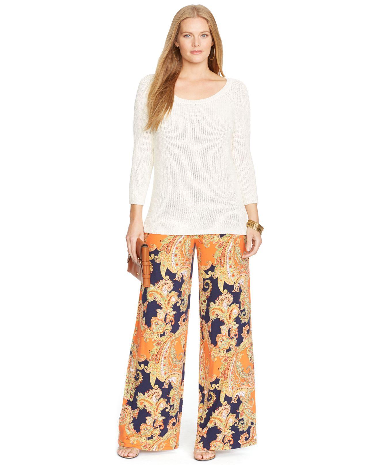 Plus Size Wide Leg Jeans For Women