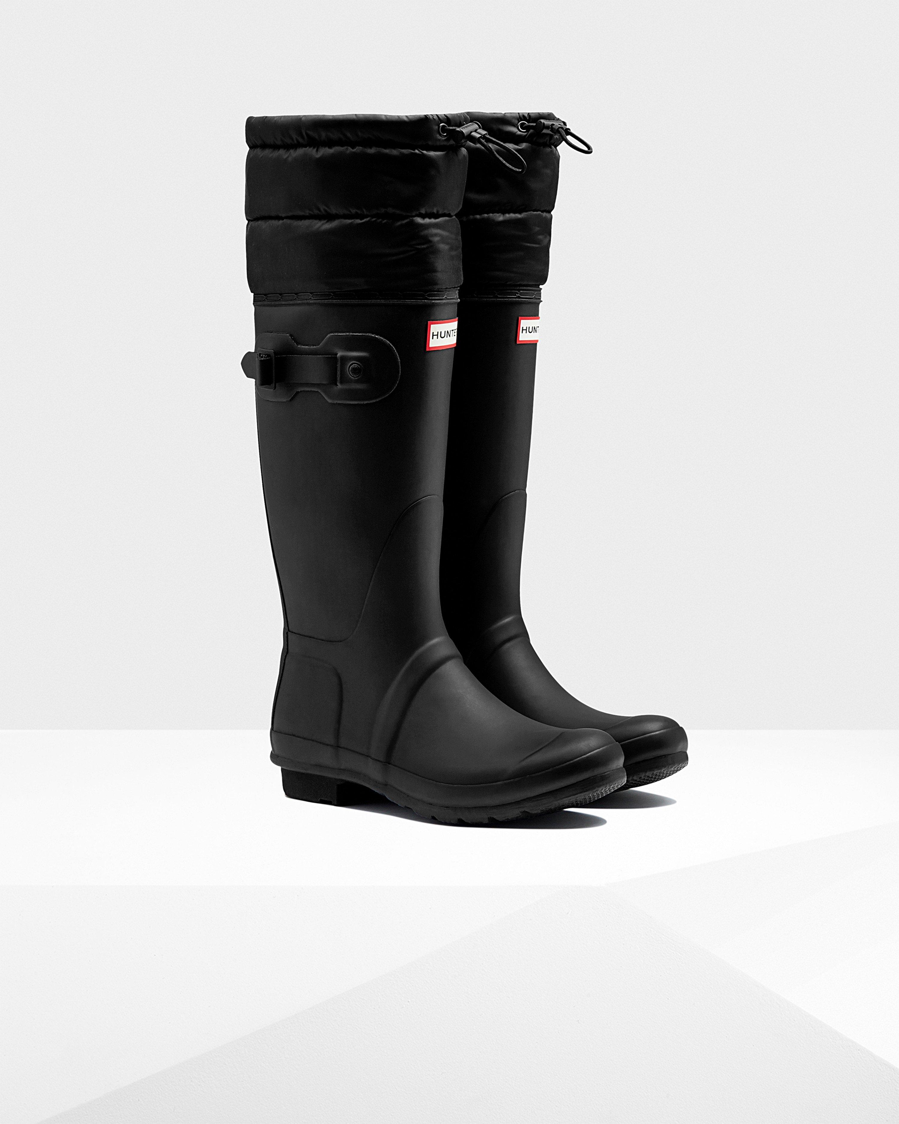 Lyst - Hunter Womens Original Tall Quilted Cuff Rain -9903