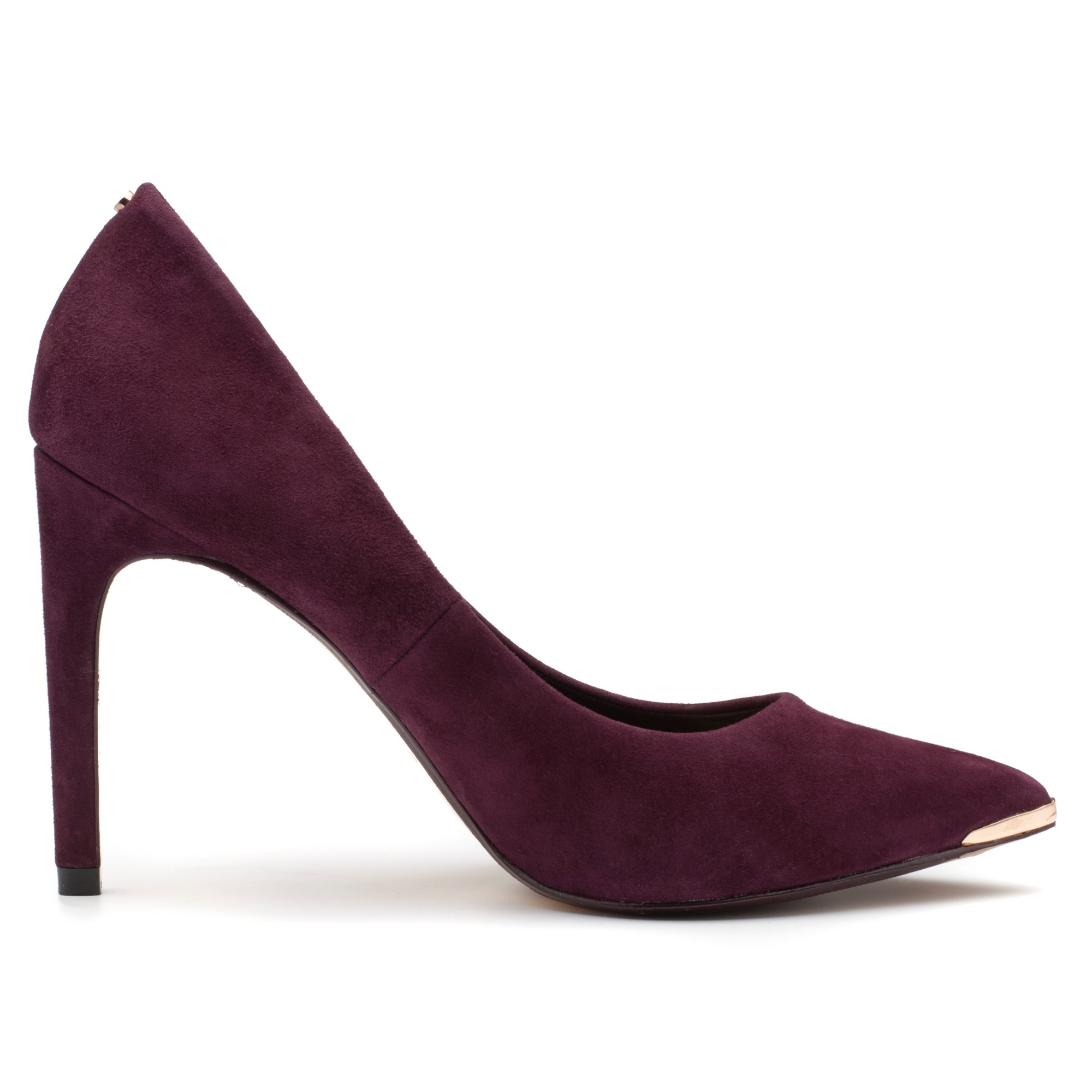 84e9add02535 Ted Baker Neevo Pointed Court Shoes in Purple - Lyst