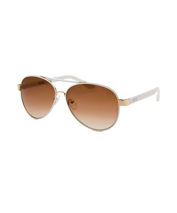 Kenneth Cole Reaction Aviator Sunglasses  kenneth cole reaction women s aviator rose tone and white