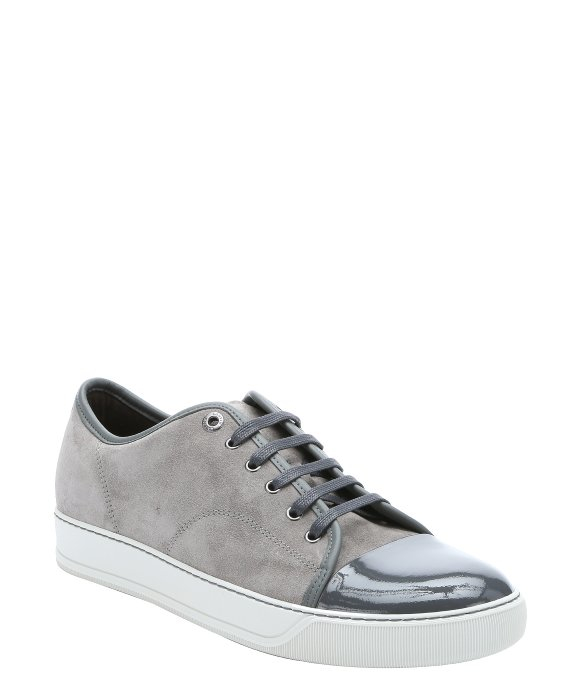 LanvinGrey Suede Sneakers u0Q9zm