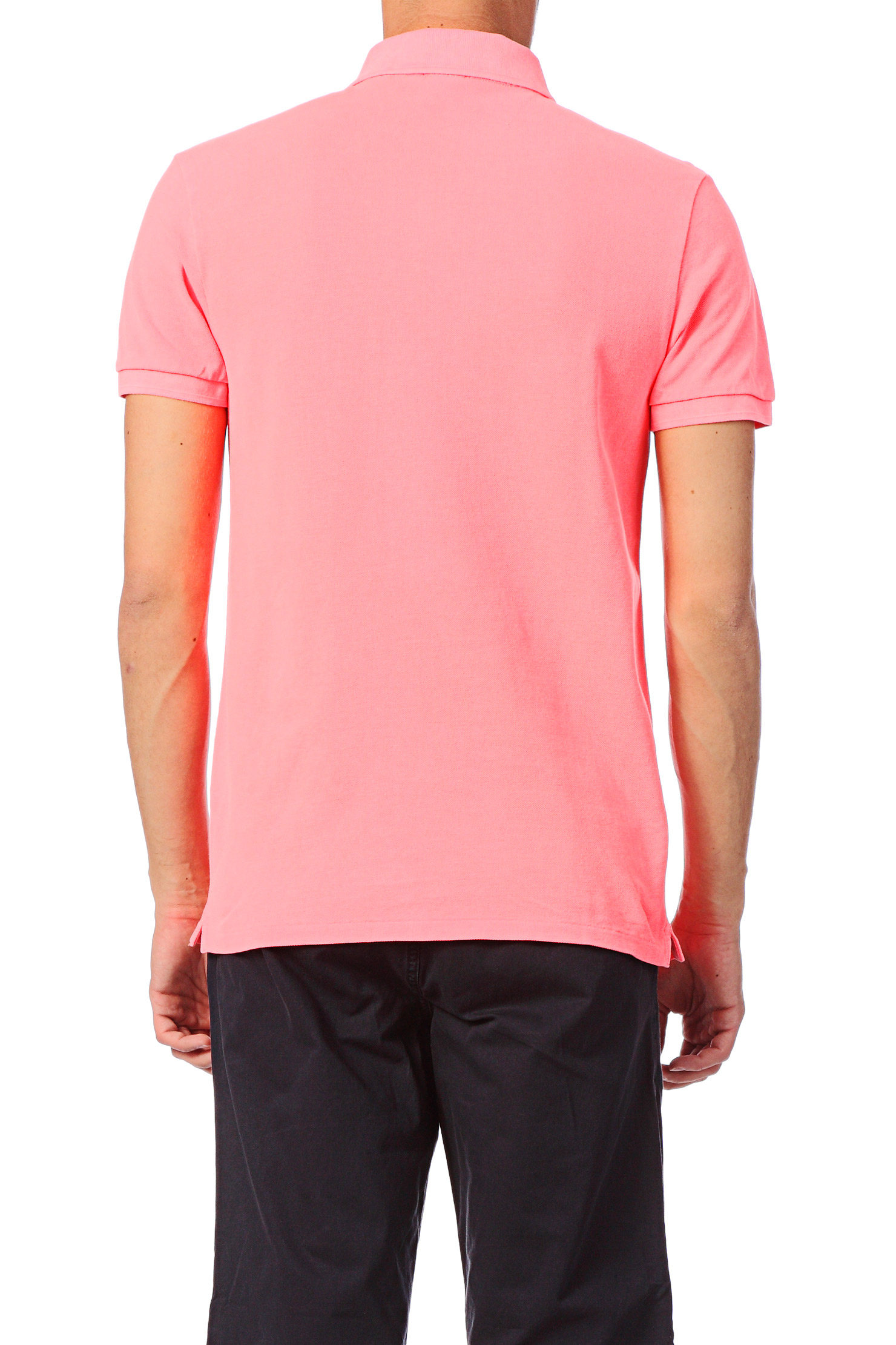 scotch soda polo shirt in pink for men lyst. Black Bedroom Furniture Sets. Home Design Ideas