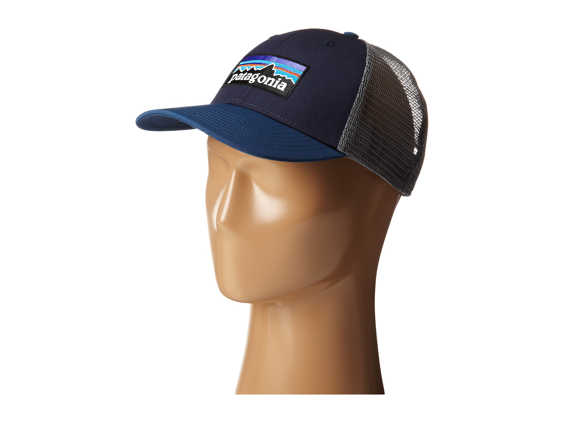 Lyst - Patagonia P6 Lopro Trucker Hat in Blue 17e4f4ac525